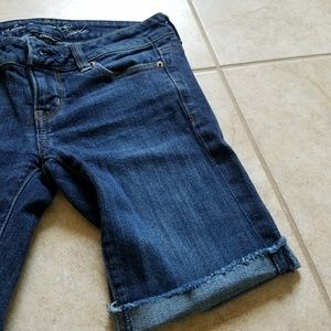American Eagle Outfitters Shorts - American Eagle Jean Stretch Shorts Good Condition